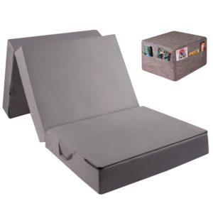 mobiles-Gästebett-Klappmatratze-Sitzwürfel